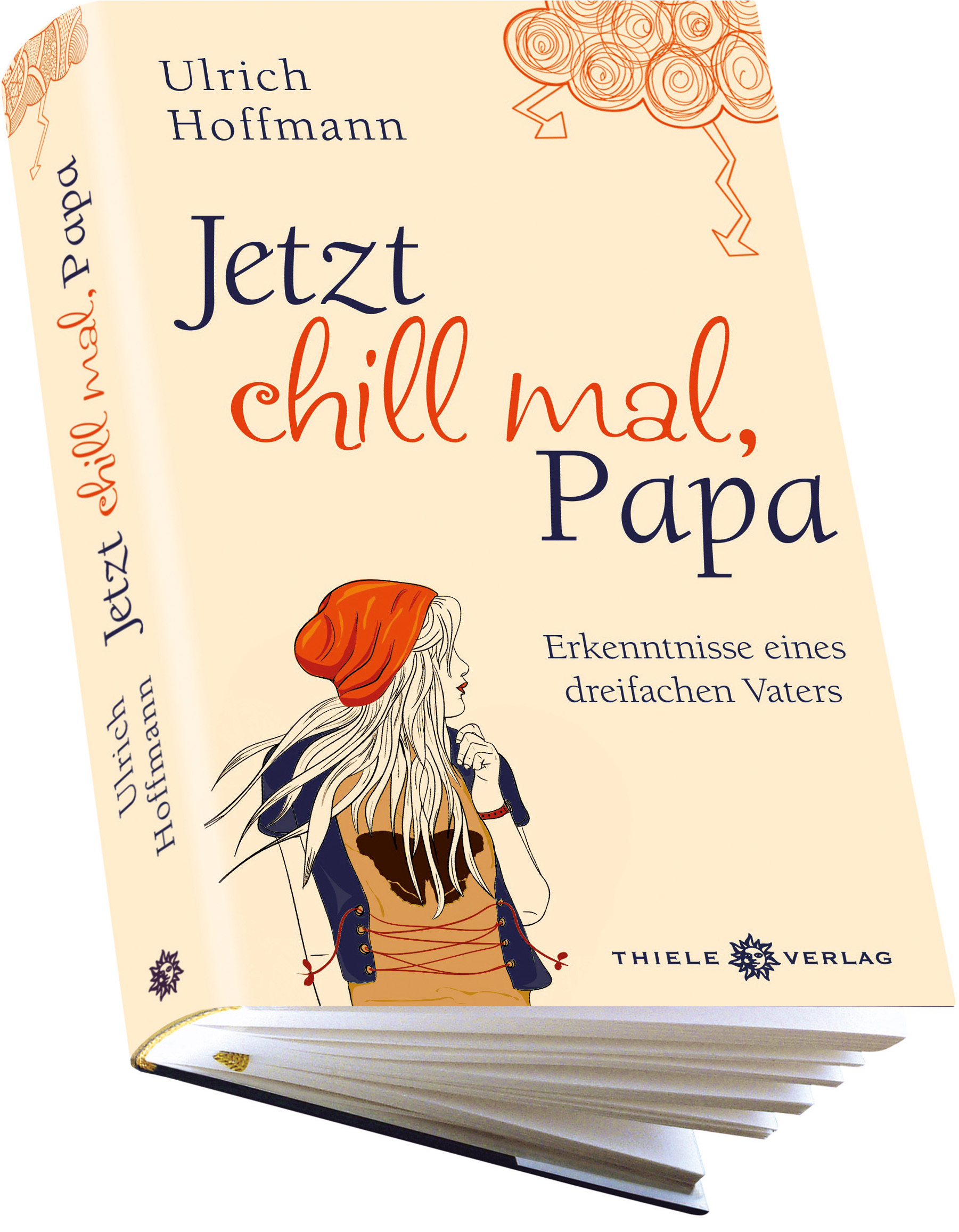 "3D Cover ""Jetzt chill mal, Papa"""
